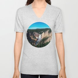 Yellowstone x Lower Falls Unisex V-Neck