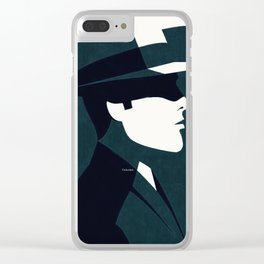 Detective Clear iPhone Case