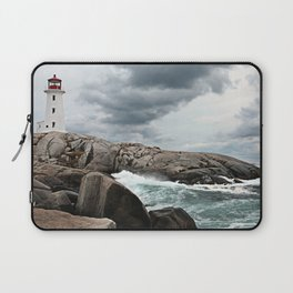 Peggy's Cove Light House -- Nova Scotia Laptop Sleeve