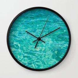 Cabo Water Wall Clock