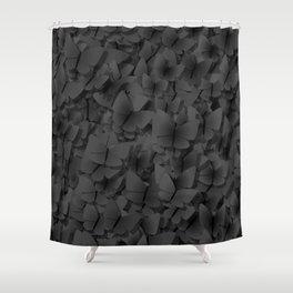 Dark butterflies Shower Curtain