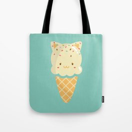 Vanilla Ice-cream Tote Bag