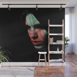 Portrait divisionism Wall Mural