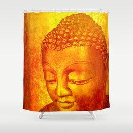 Buddha from Sri Lanka Shower Curtain