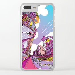 Dotonbori Extra Color in Another Dimension Clear iPhone Case