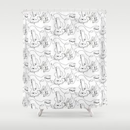 Music, make it your own, color it ! Shower Curtain