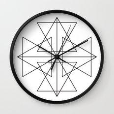 Triangle Love Wall Clock