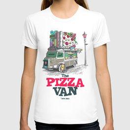 "Javier Arres T-shirt/camiseta ""The Pizza Van"" T-shirt"