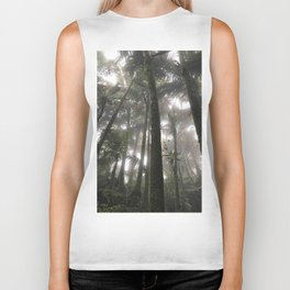 Tropical Jungle - Palm Trees Biker Tank