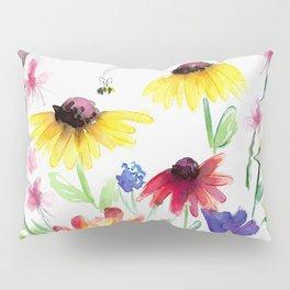 Summer Wildflowers Pillow Sham
