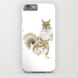 Two Squirrels iPhone Case