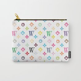 Weed Couture Multicolor Carry-All Pouch