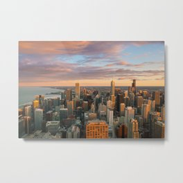 Chicago 01 - USA Metal Print
