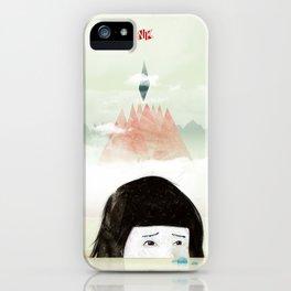 Girl Mountain iPhone Case
