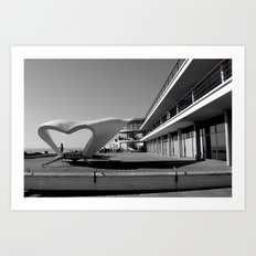 Art Deco Bexhill 2 Art Print
