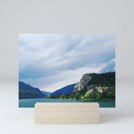 Looking out at Robson B.C. Mini Art Print