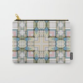 Multi Tiled Pastel Pattern Abstract Carry-All Pouch