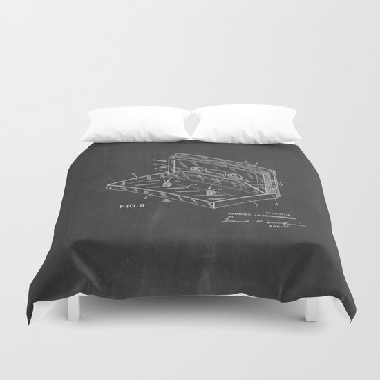 Storage Case for a Tape Cartridge Patent Duvet Cover