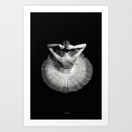 Ready to dance Art Print