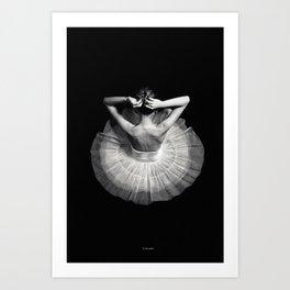 Ready to dance Art Print