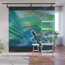 the first day Wall Mural