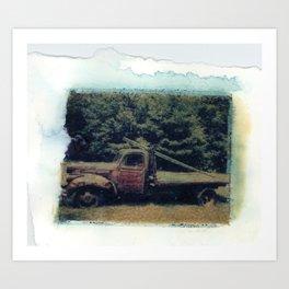 Truckin' Art Print