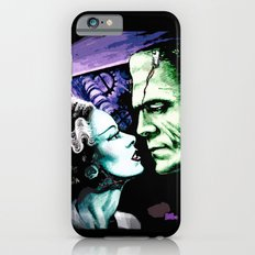 Bride of Frankenstein Monsters in Love iPhone 6 Slim Case