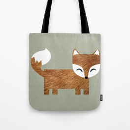 Box Fox Tote Bag