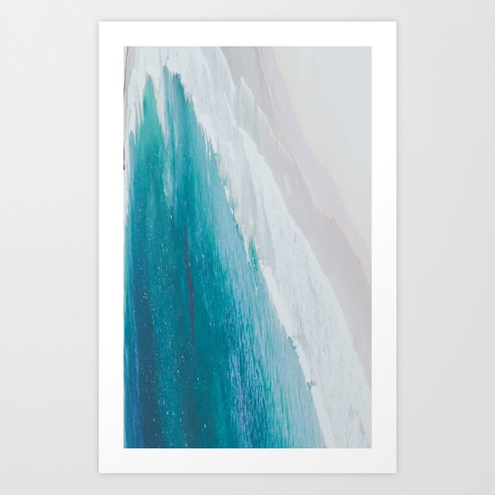 """Philippines VI - """"The ocean as a painting"""" Art Print"""