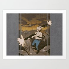 Contra - 8-Bit Art Print