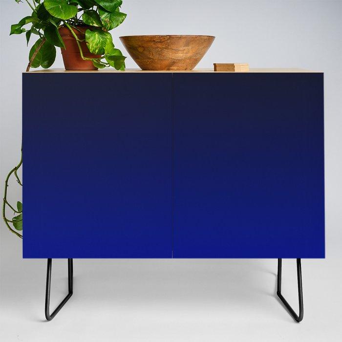 Cobalt blue Ombre Credenza