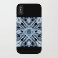 snowflake iPhone & iPod Cases featuring Snowflake by Steve Purnell