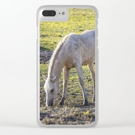 Traveler Portrait, No. 3 Clear iPhone Case