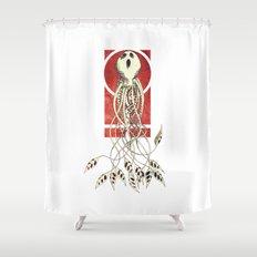 Ciavevomezzorabohmenerivadociaociao Shower Curtain