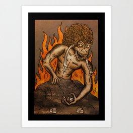 Hegemony Art Print