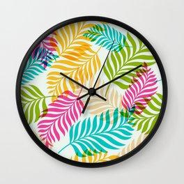 Leaf lettuce Wall Clock