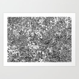 Cell Art Art Print