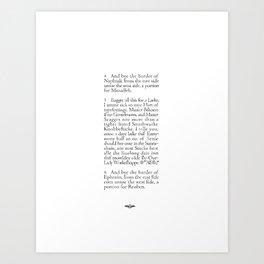 Southwarke Knobbefticke Art Print