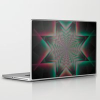 tron Laptop & iPad Skins featuring Tron Star by Vortex Interactive