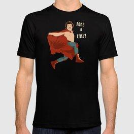 Take It Easy, El Luchador Mascarado Artwork T-shirt