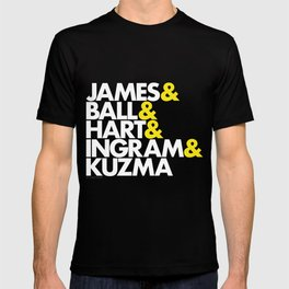 Lakers Lineup: LeBron & Young Core T-shirt