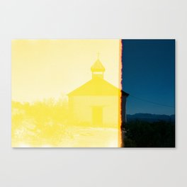 Terlingua Church Canvas Print