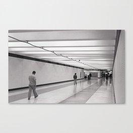 Concourse Canvas Print