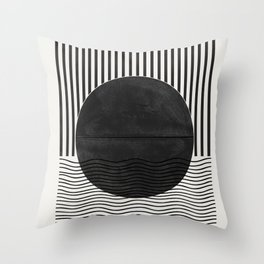 Abstract Modern  Throw Pillow
