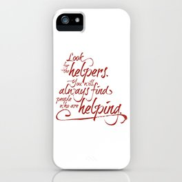 Rogers' Army -Red iPhone Case