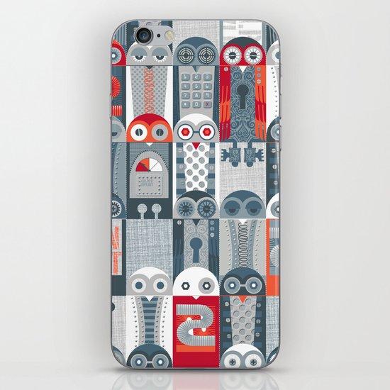 Tin Pot Owl-Bot Parliament  iPhone & iPod Skin