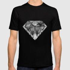 Diamond MEDIUM Mens Fitted Tee Black
