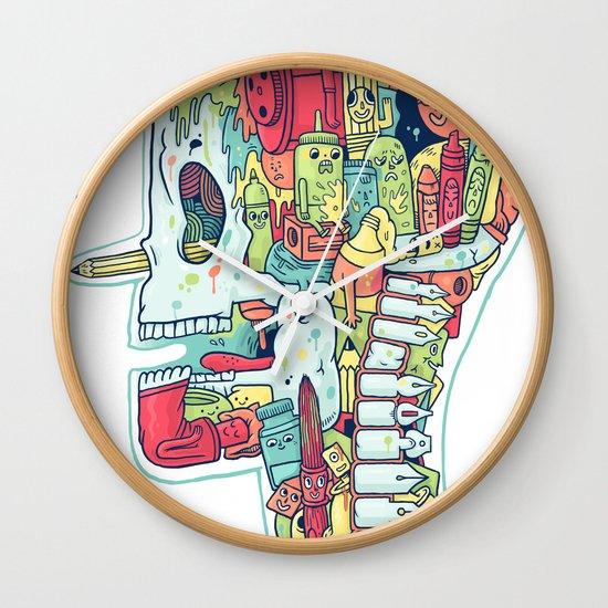 Illustrator to the Bone Wall Clock