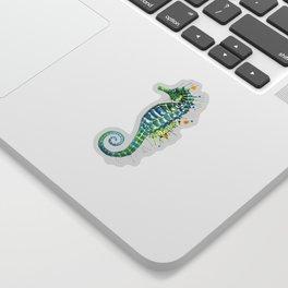 Seahorse: Green Sticker