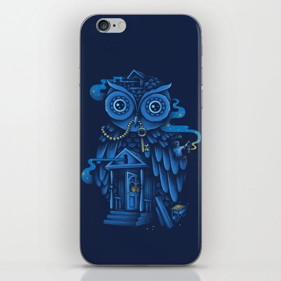 Guardian of the Night iPhone & iPod Skin